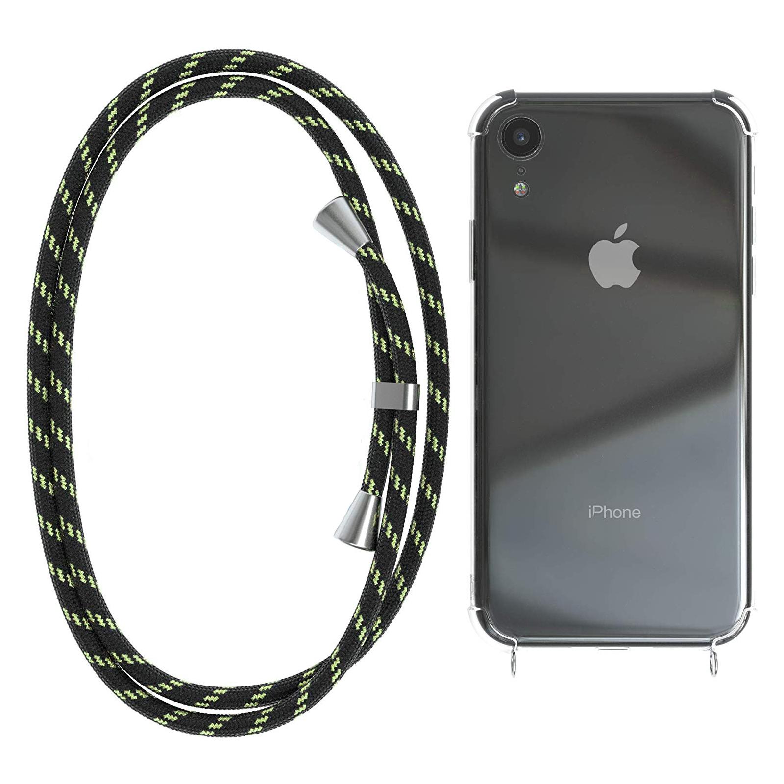 Чехол для моб. телефона BeCover Strap Apple iPhone 11 Pro Black-Green (704247) изображение 3