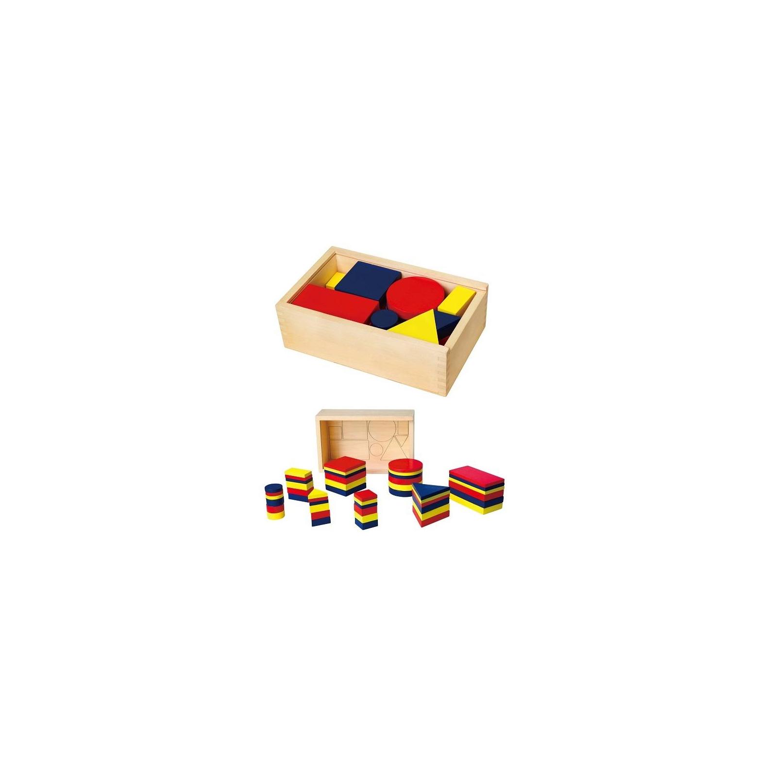 Обучающий набор Viga Toys Логические блоки (56164U)