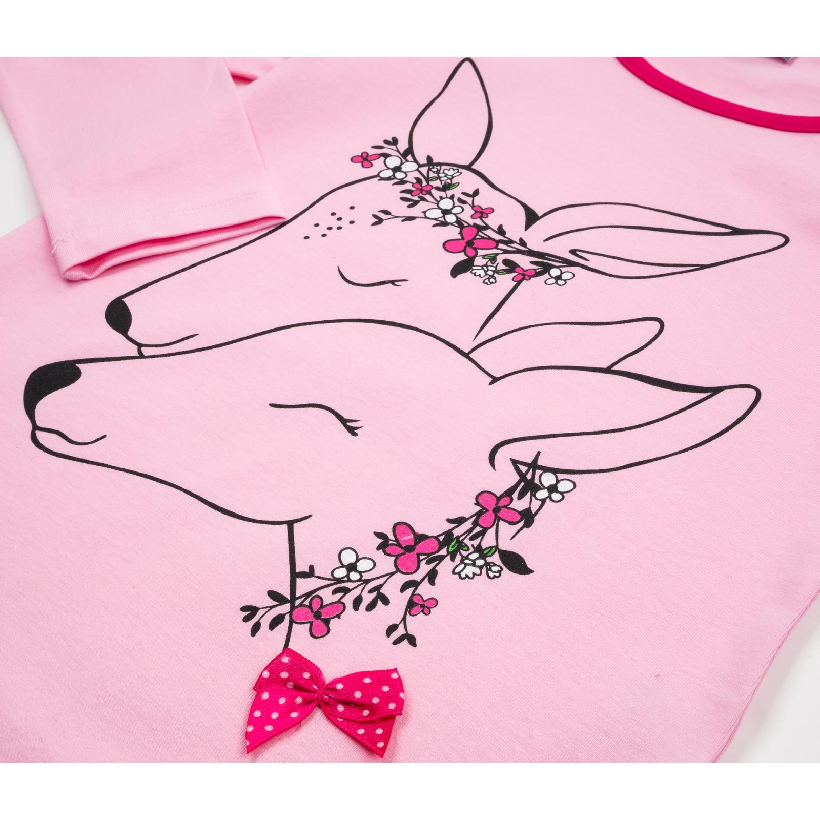 Пижама Matilda с оленями (10817-3-122G-pink) изображение 7