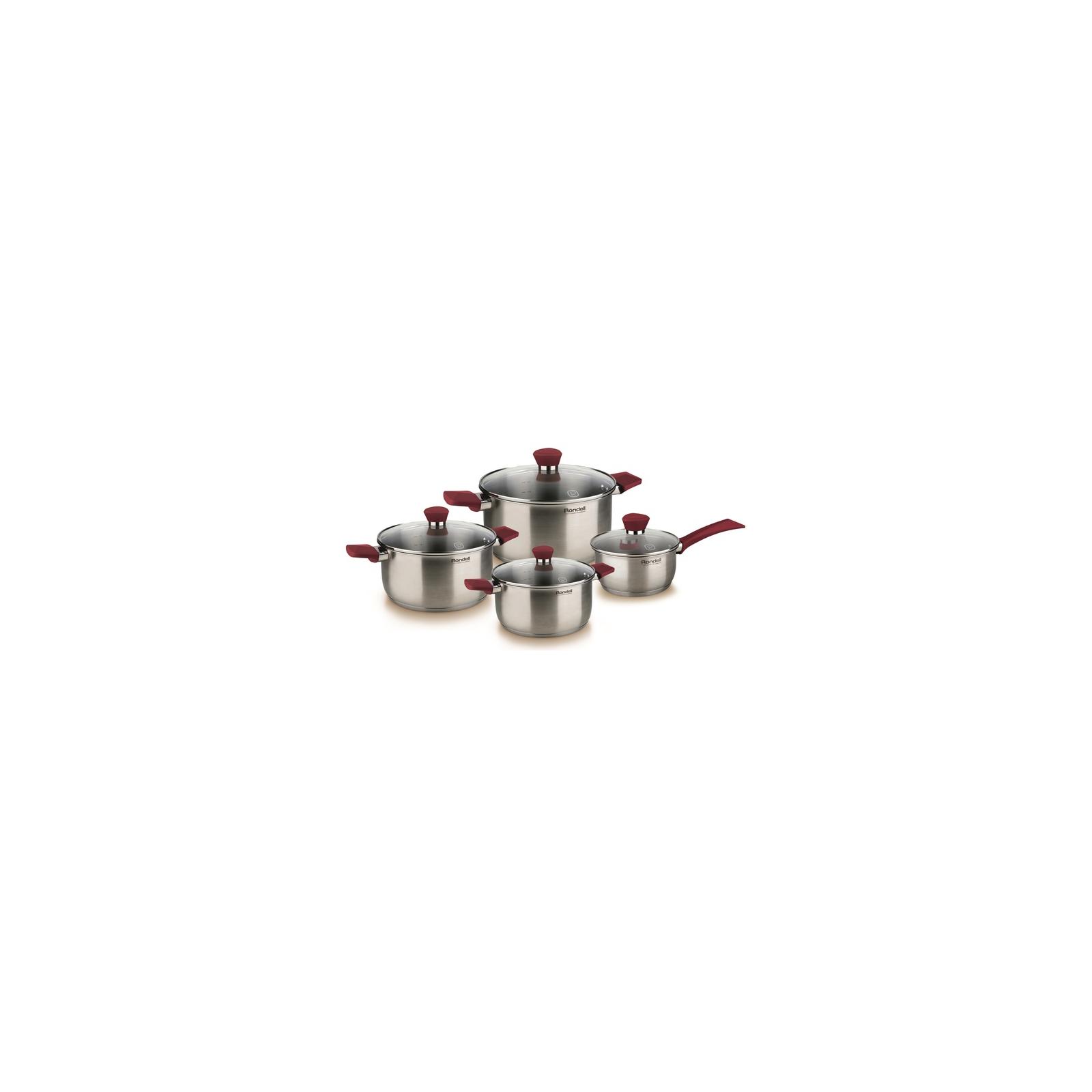 Набор посуды Rondell Strike 8 предметов (RDS-818)