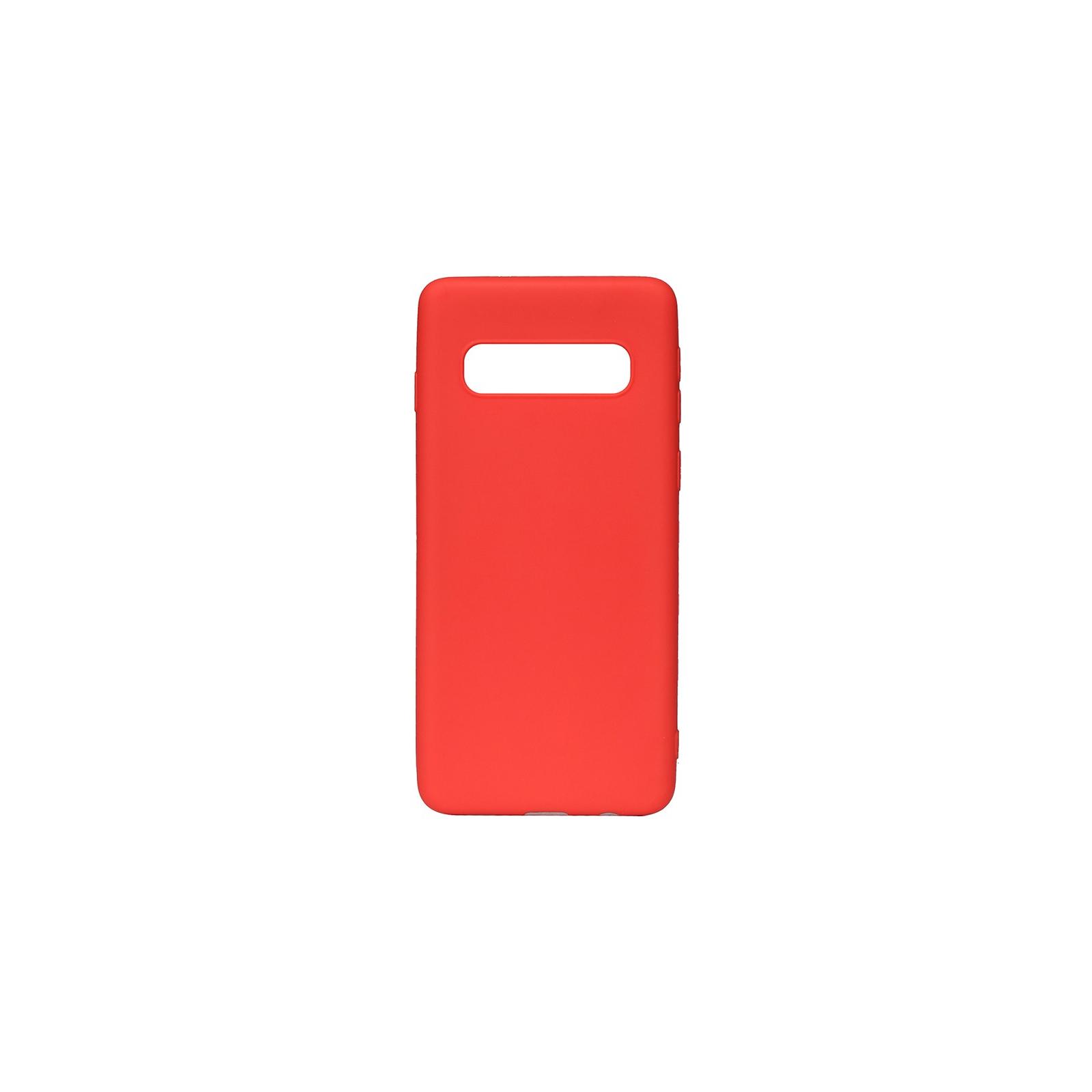 Чехол для моб. телефона Toto 1mm Matt TPU Case Samsung Galaxy S10 Red (F_94052)