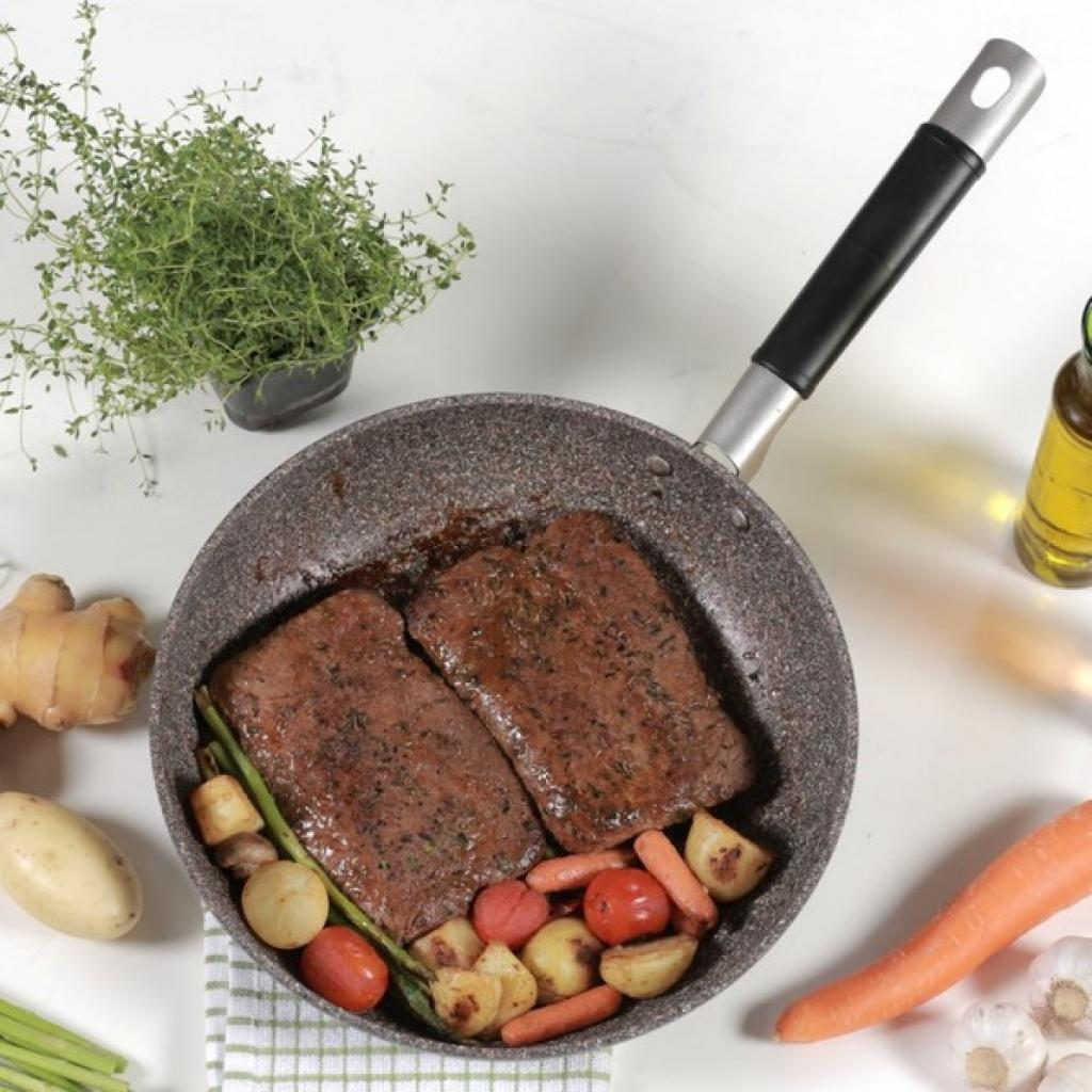 Сковорода TVS Grand Gurmet 20 см (BJ163203720002) изображение 2