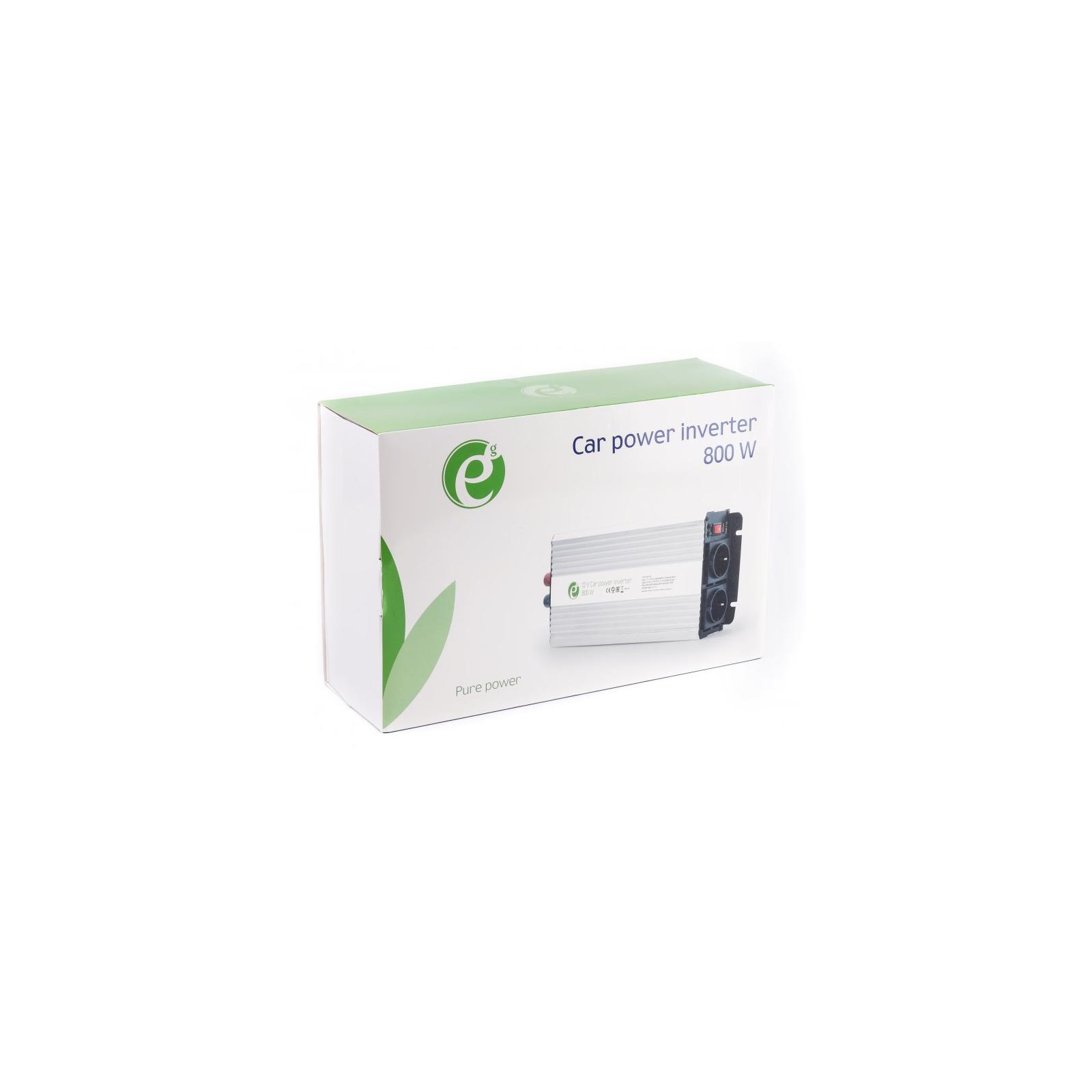 Автомобильный инвертор 12V/220V 800 Вт EnerGenie (EG-PWC-044) изображение 4