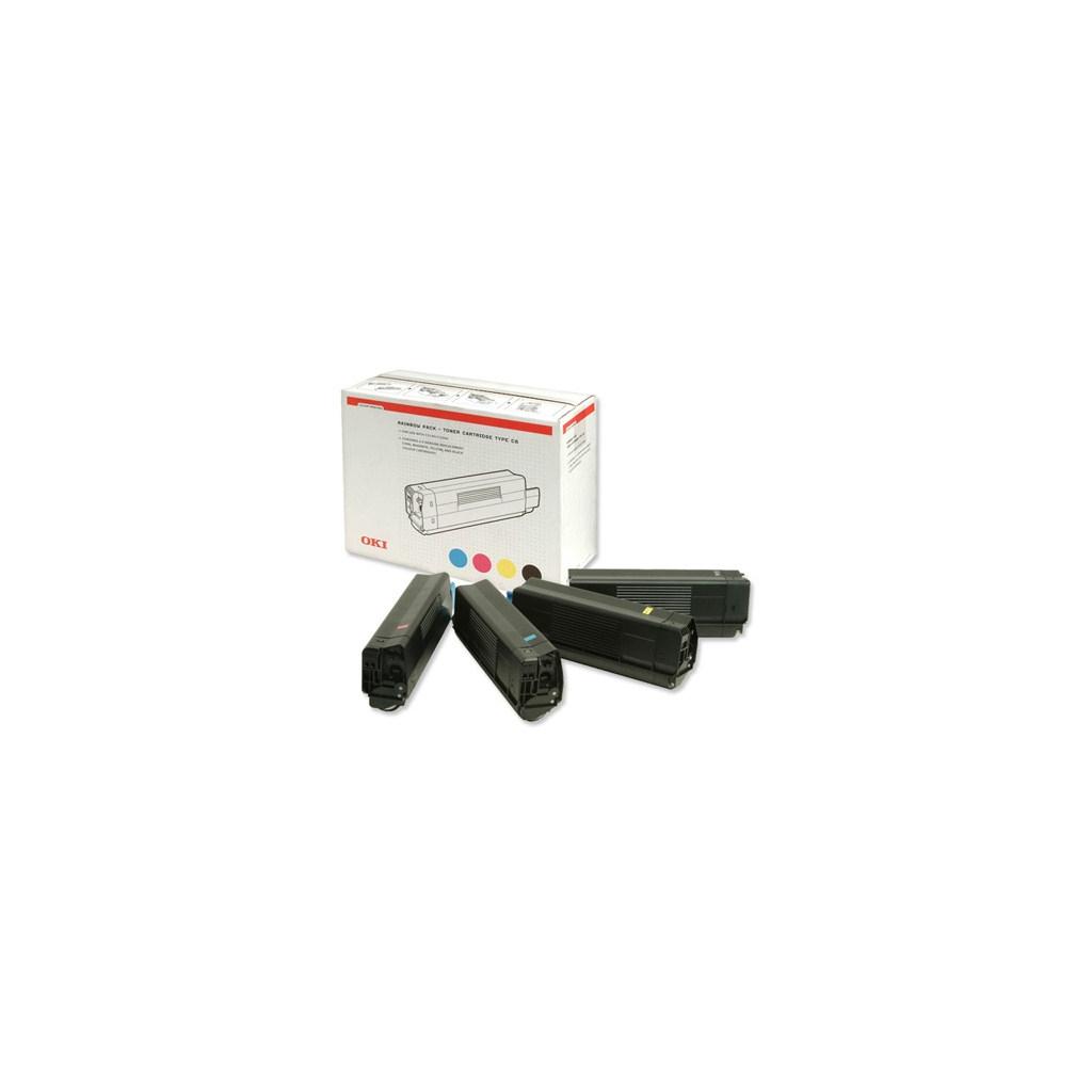 Тонер-картридж OKI C5100/5200/5300/5400 (CMYK-Kit) (42403002)
