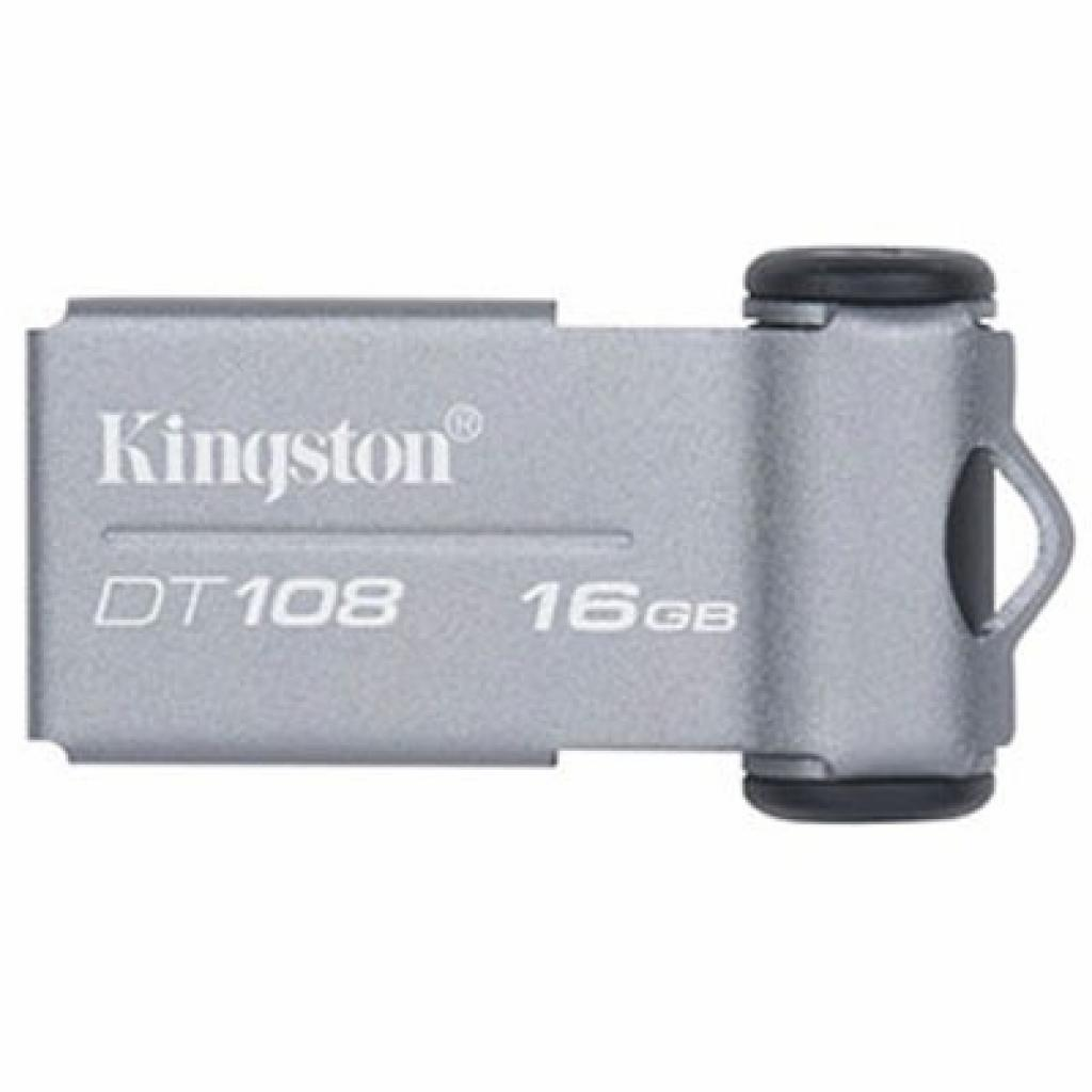 USB флеш накопитель 16Gb DataTraveler 108 Kingston (DT108/16GB)