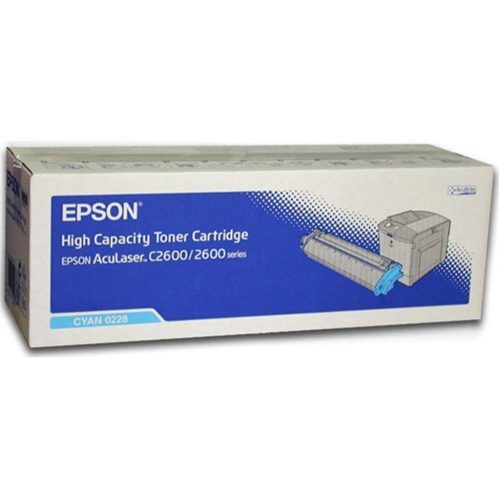 Картридж EPSON AcuLaser C2600 cyan (C13S050228)
