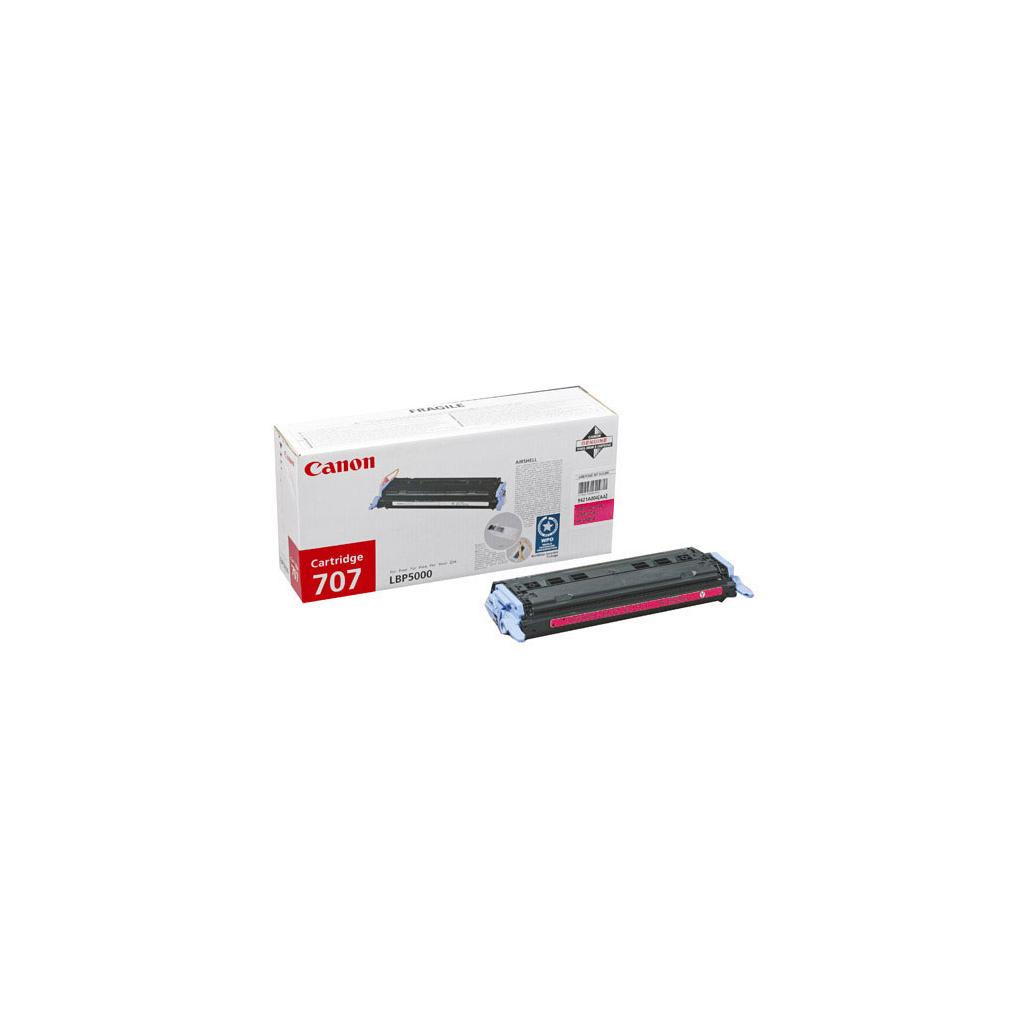 Картридж Canon 707 magenta для LBP-5000 (9422A004)