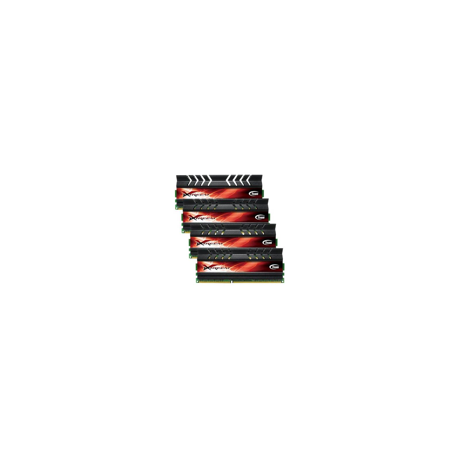Модуль памяти для компьютера DDR3 16GB (4x4GB) 2400 MHz Team (TXD316G2400HC11QC01)