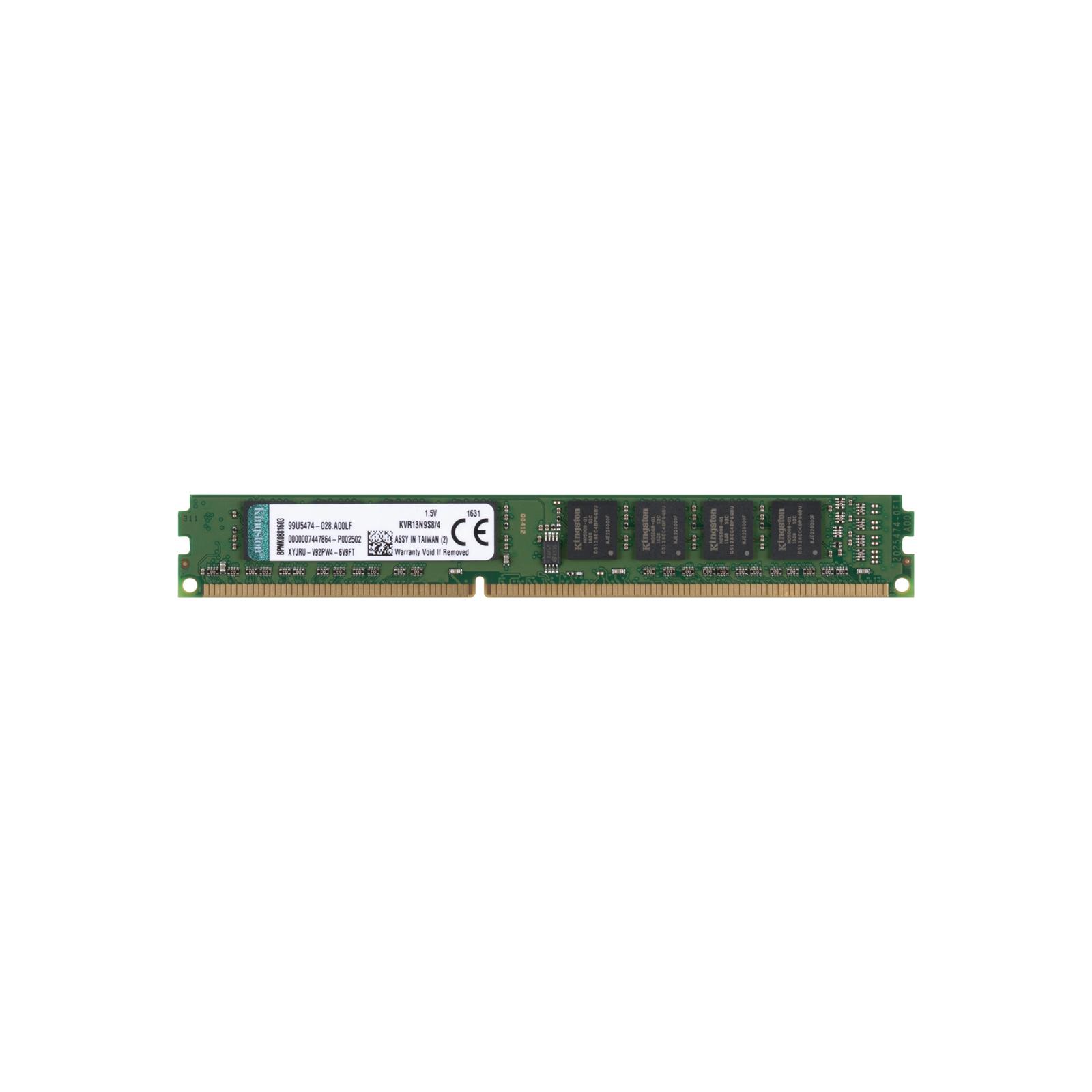 Модуль памяти для компьютера DDR3 4GB 1333 MHz Kingston (KVR13N9S8/4 / KVR13N9S8/4-SP)