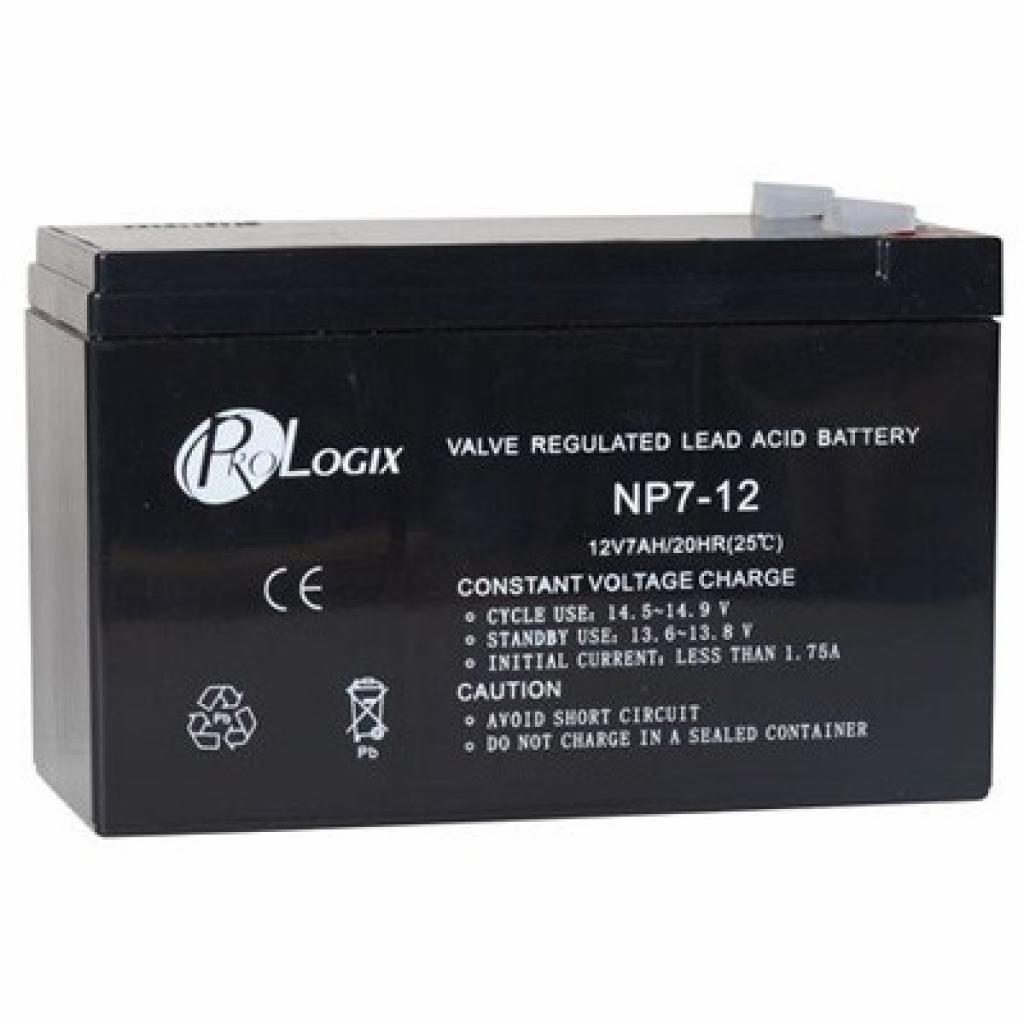 Батарея к ИБП PrologiX 12В 7 Ач (12-7)