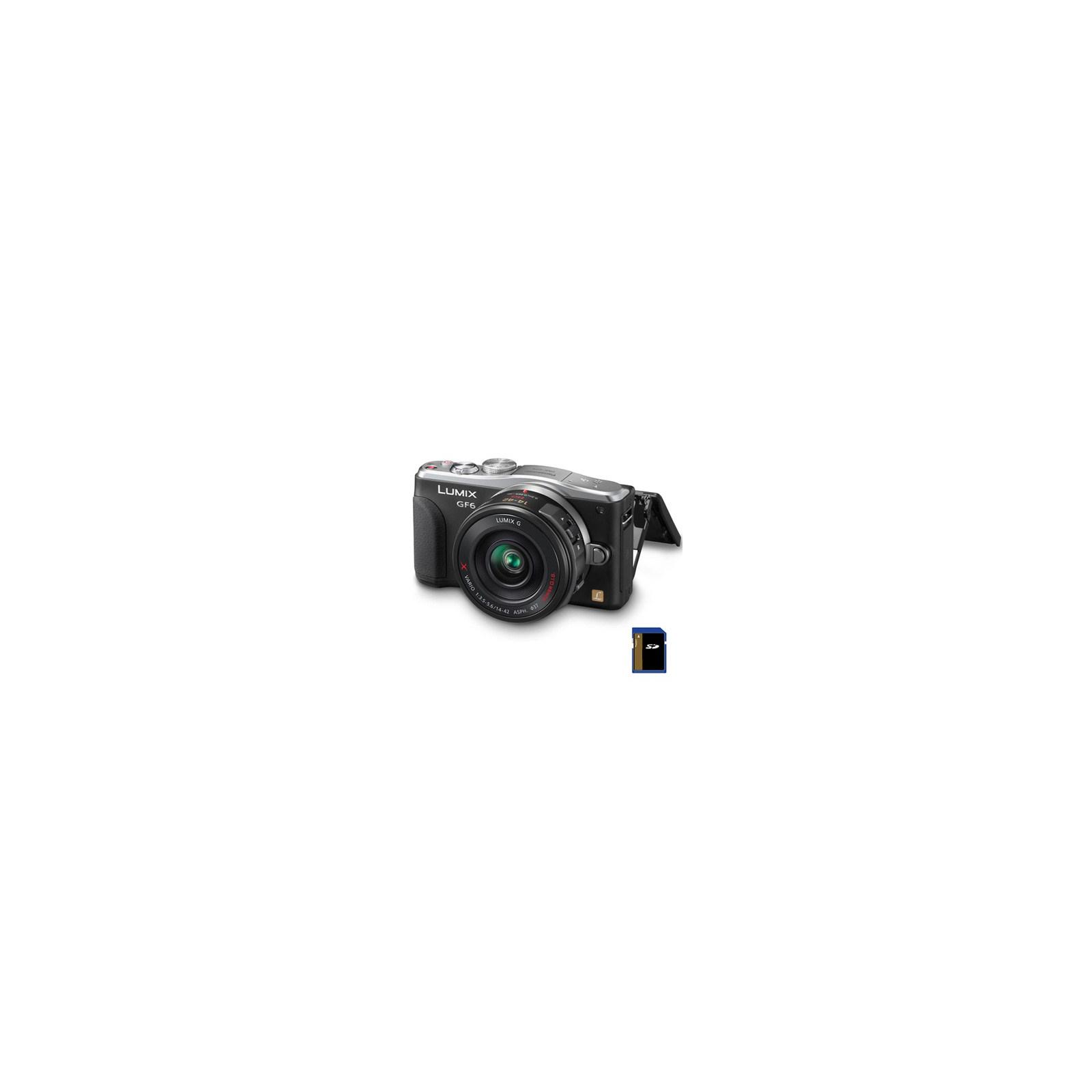Цифровой фотоаппарат PANASONIC DMC-GF6X black 14-42 kit (DMC-GF6XEE-K)