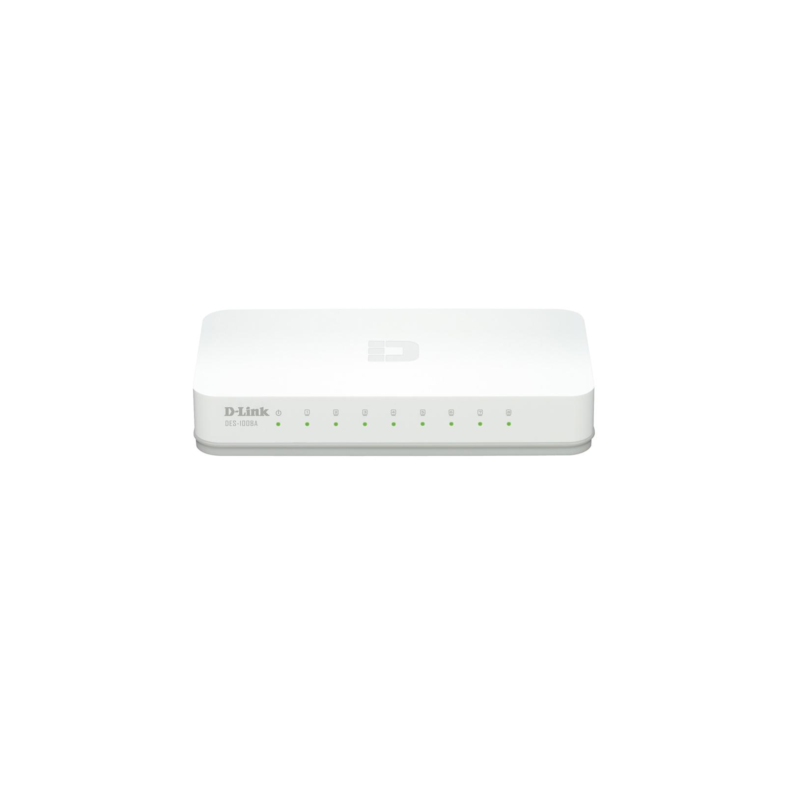 Коммутатор сетевой D-Link DES-1008A\Е1А