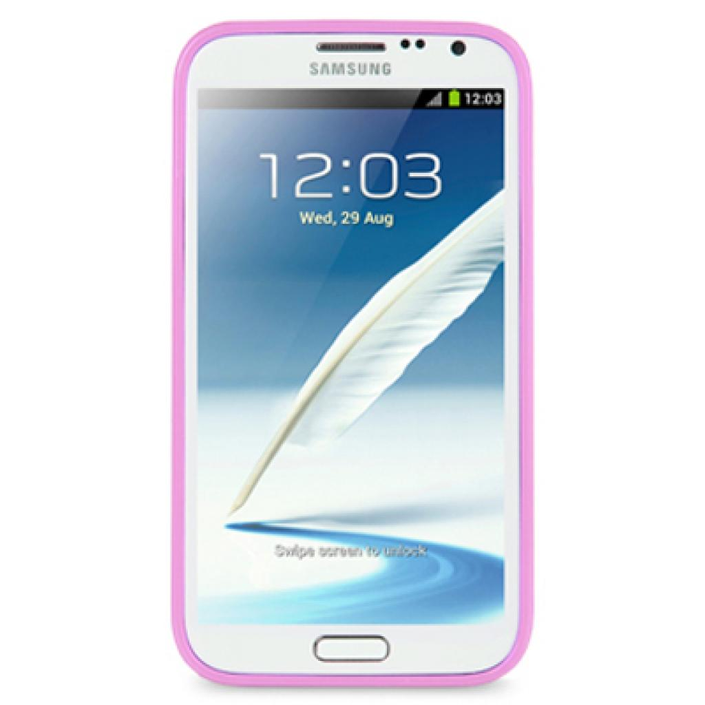 Чехол для моб. телефона Melkco для Samsung N7100 Galaxy Note 2 purple/white (SSNO71TPLT3LPWE) изображение 2