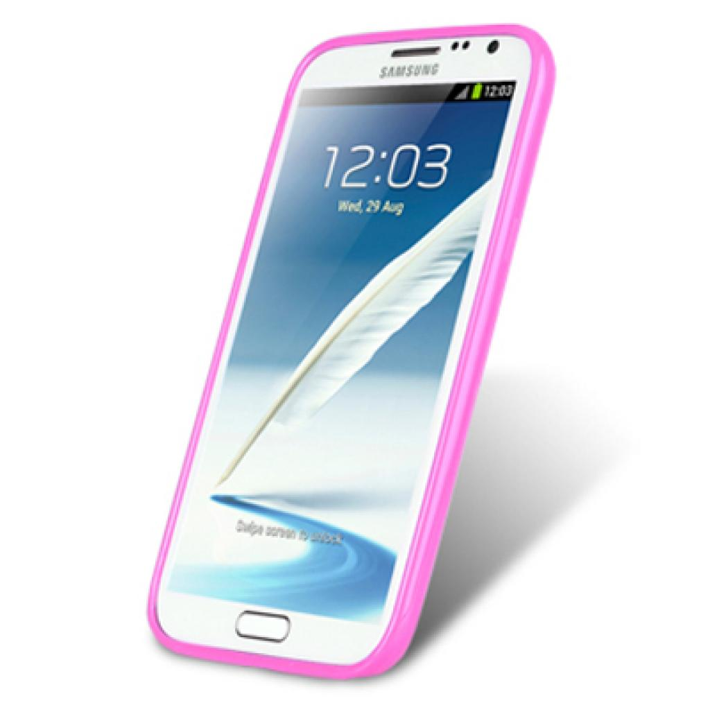 Чехол для моб. телефона Melkco для Samsung N7100 Galaxy Note 2 purple/white (SSNO71TPLT3LPWE) изображение 3