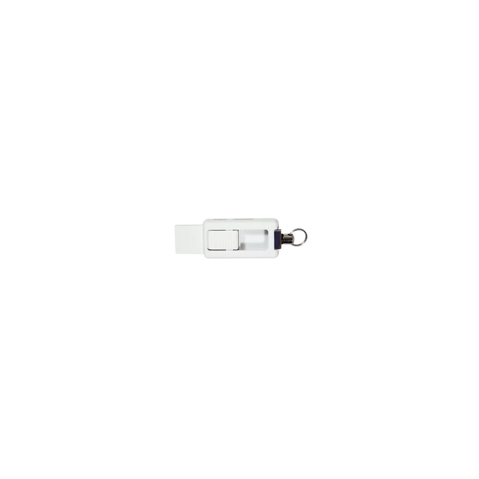 USB флеш накопитель 8GB AH129 Tiffany Blue RP USB2.0 Apacer (AP8GAH129G-1) изображение 3