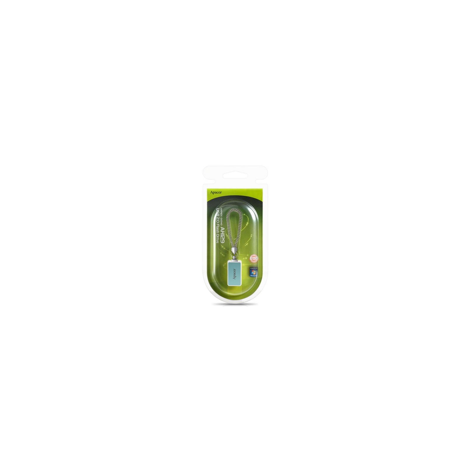 USB флеш накопитель 8GB AH129 Tiffany Blue RP USB2.0 Apacer (AP8GAH129G-1) изображение 7