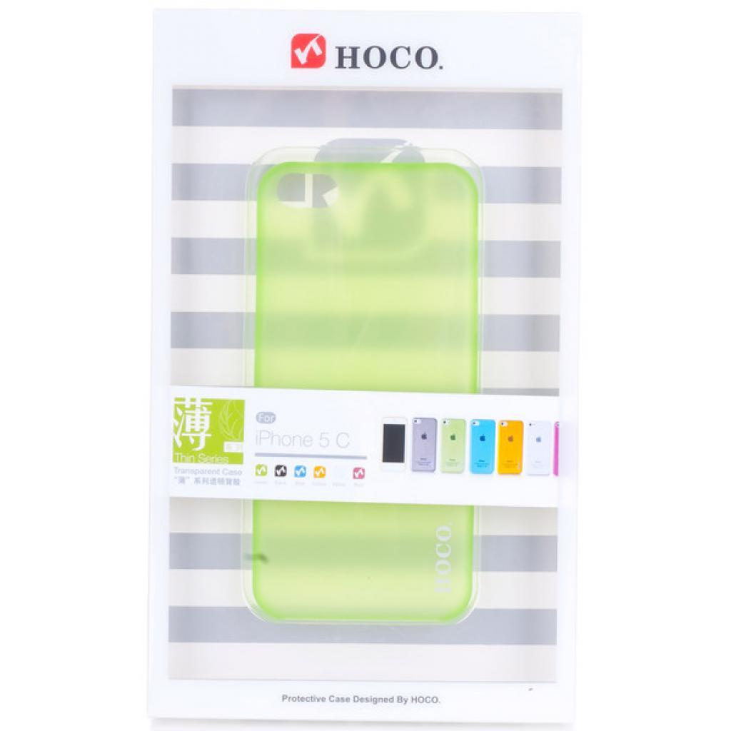 Чехол для моб. телефона HOCO для iPhone 5C /Ultra Thin (HI-P011 Green)