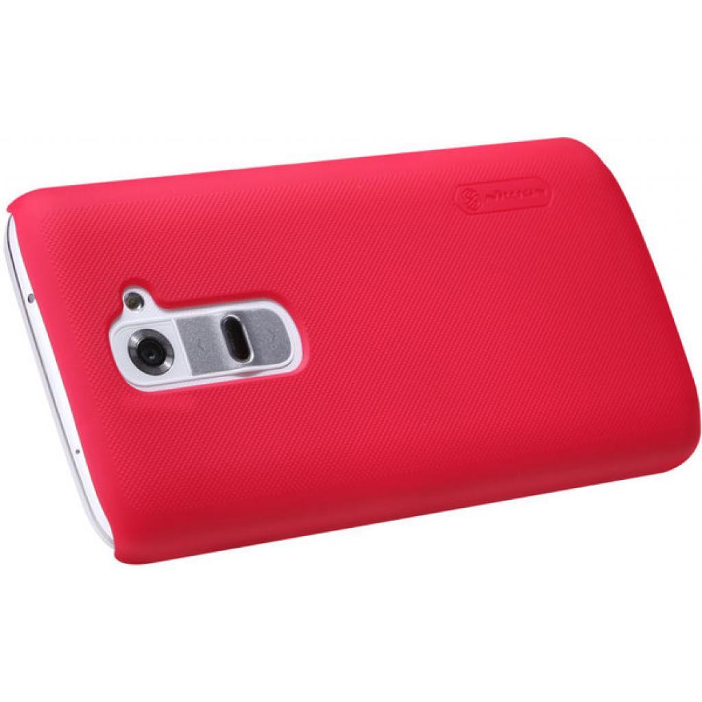 Чехол для моб. телефона NILLKIN для LG D802 Optimus GII /Super Frosted Shield/Red (6089168) изображение 3