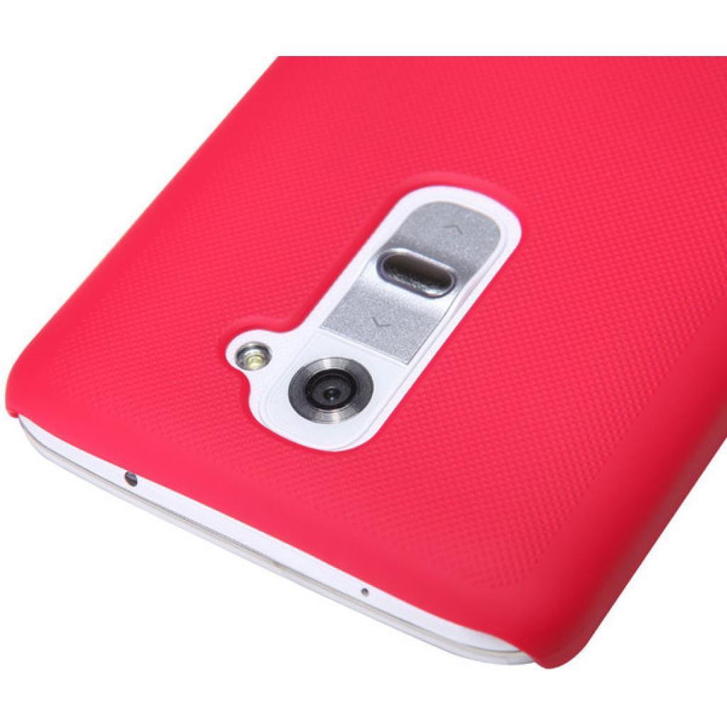 Чехол для моб. телефона NILLKIN для LG D802 Optimus GII /Super Frosted Shield/Red (6089168) изображение 4