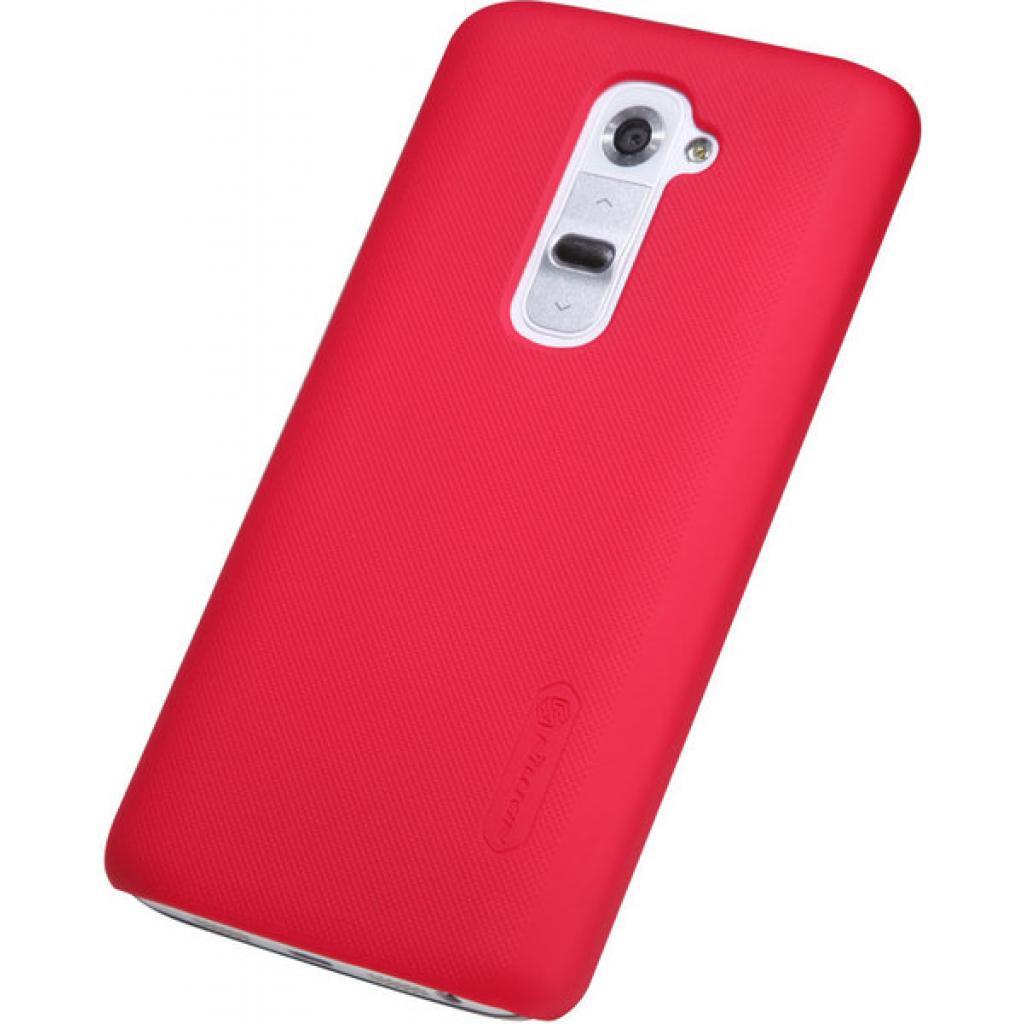 Чехол для моб. телефона NILLKIN для LG D802 Optimus GII /Super Frosted Shield/Red (6089168) изображение 5
