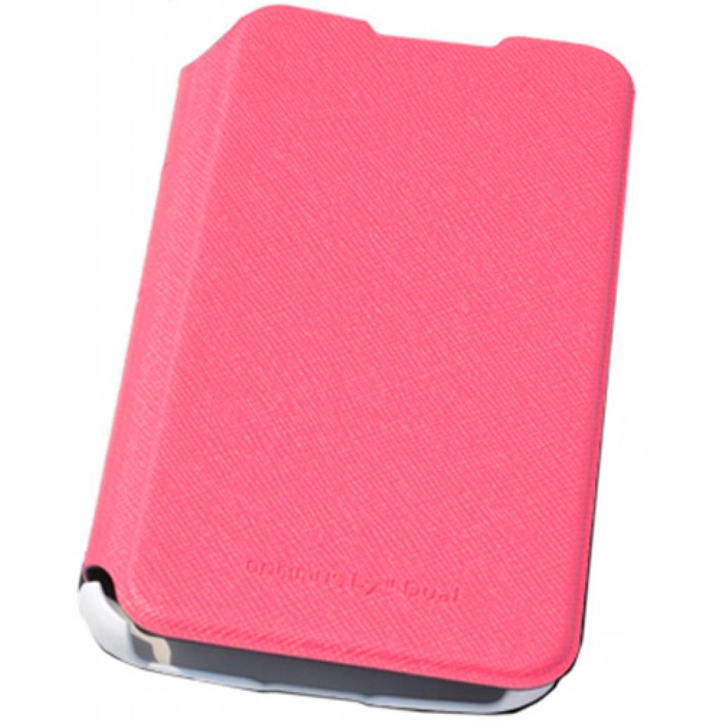 Чехол для моб. телефона VOIA для LG P715 Optimus L7II Dual /Flip/Pink (6068252) изображение 2