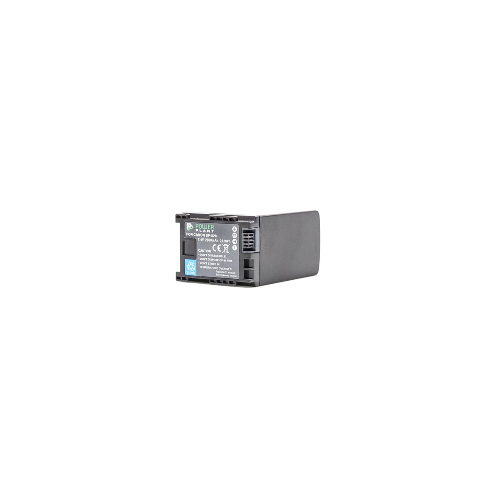 Аккумулятор к фото/видео Canon BP-828 Chip PowerPlant (DV00DV1372) изображение 2