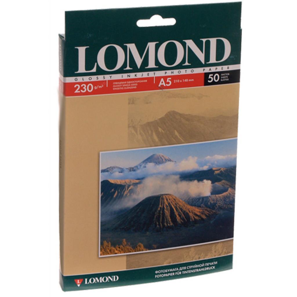 Бумага Lomond А5 Photo Paper Glossy 230 (0102070)