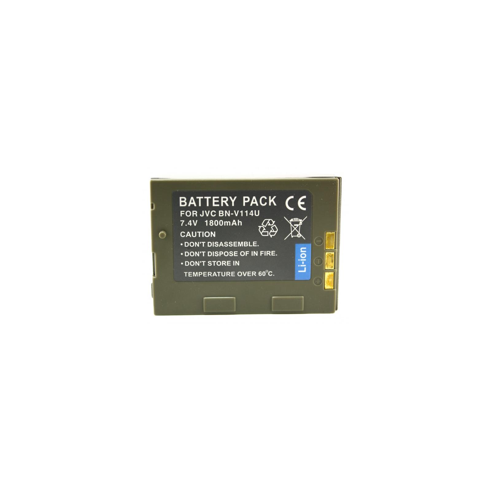 Аккумулятор к фото/видео EXTRADIGITAL JVC BN-V114U (DV00DV1087)