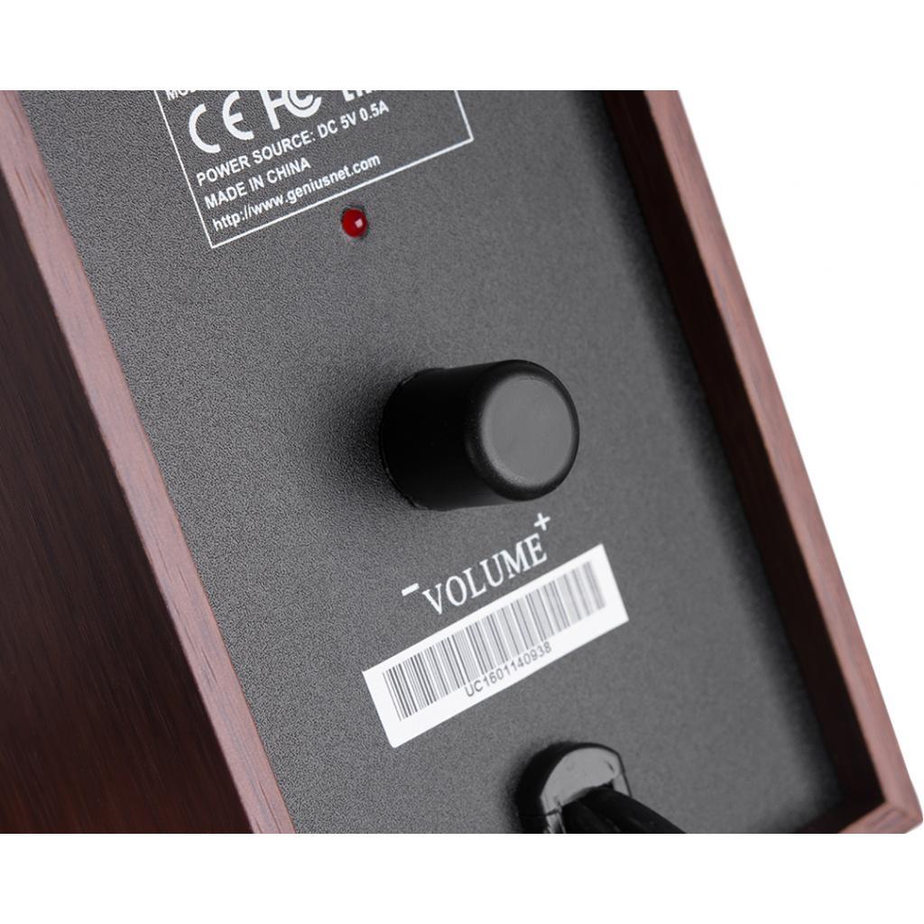 Акустическая система Genius SP-HF160 USB Wood (31731063101) изображение 3