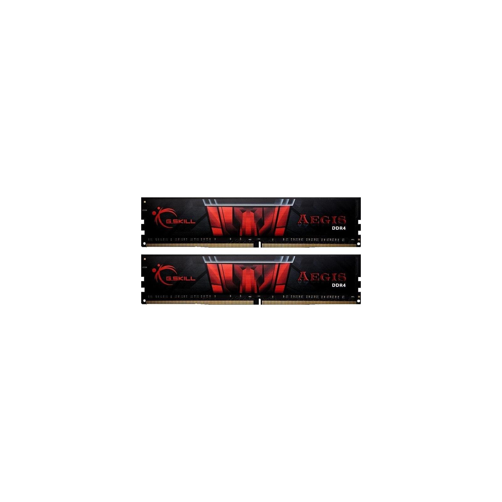 Модуль памяти для компьютера DDR4 32GB (2x16GB) 2400 MHz Gaming Series - Aegis G.Skill (F4-2400C15D-32GIS)