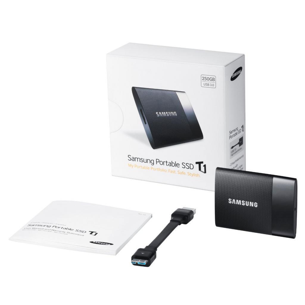 Накопитель SSD USB 3.0 250GB Samsung (MU-PS250B/EU) изображение 9