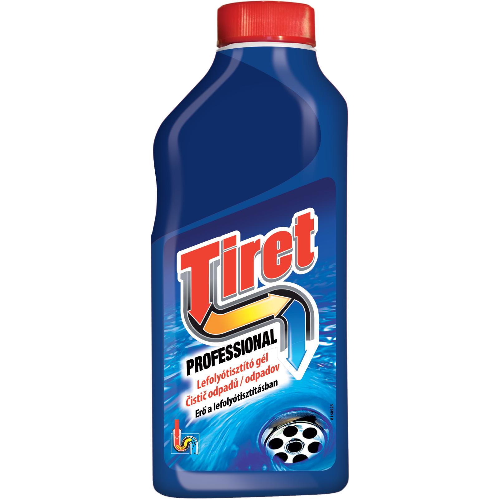 Чистящий гель Tiret для удаления засоров в трубах 500 мл (5903267000415/8594002680282)