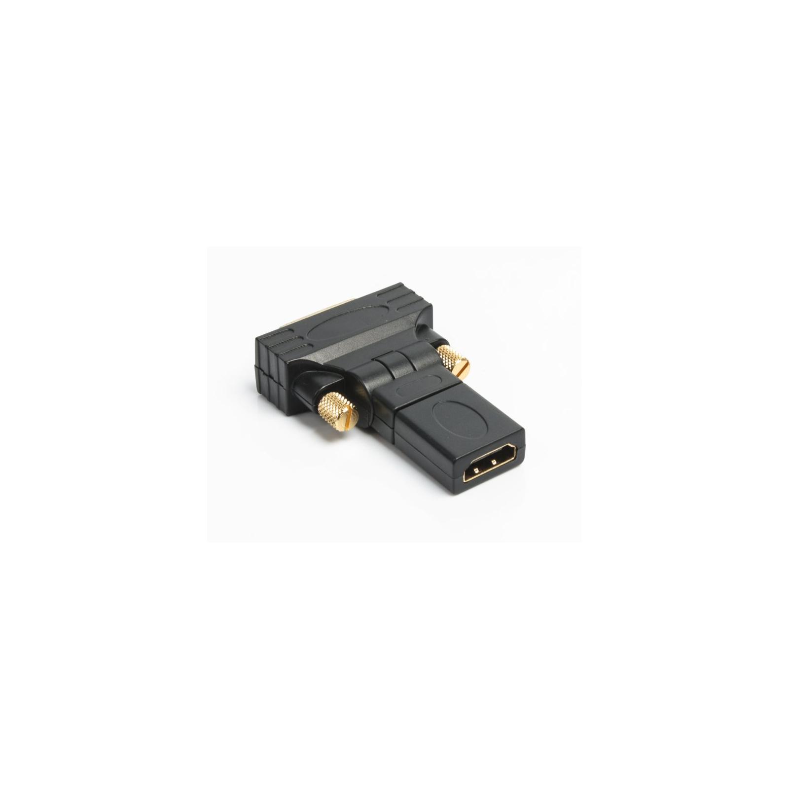 Переходник HDMI AF to DVI M (24+1) Viewcon (VD 038 B) изображение 2