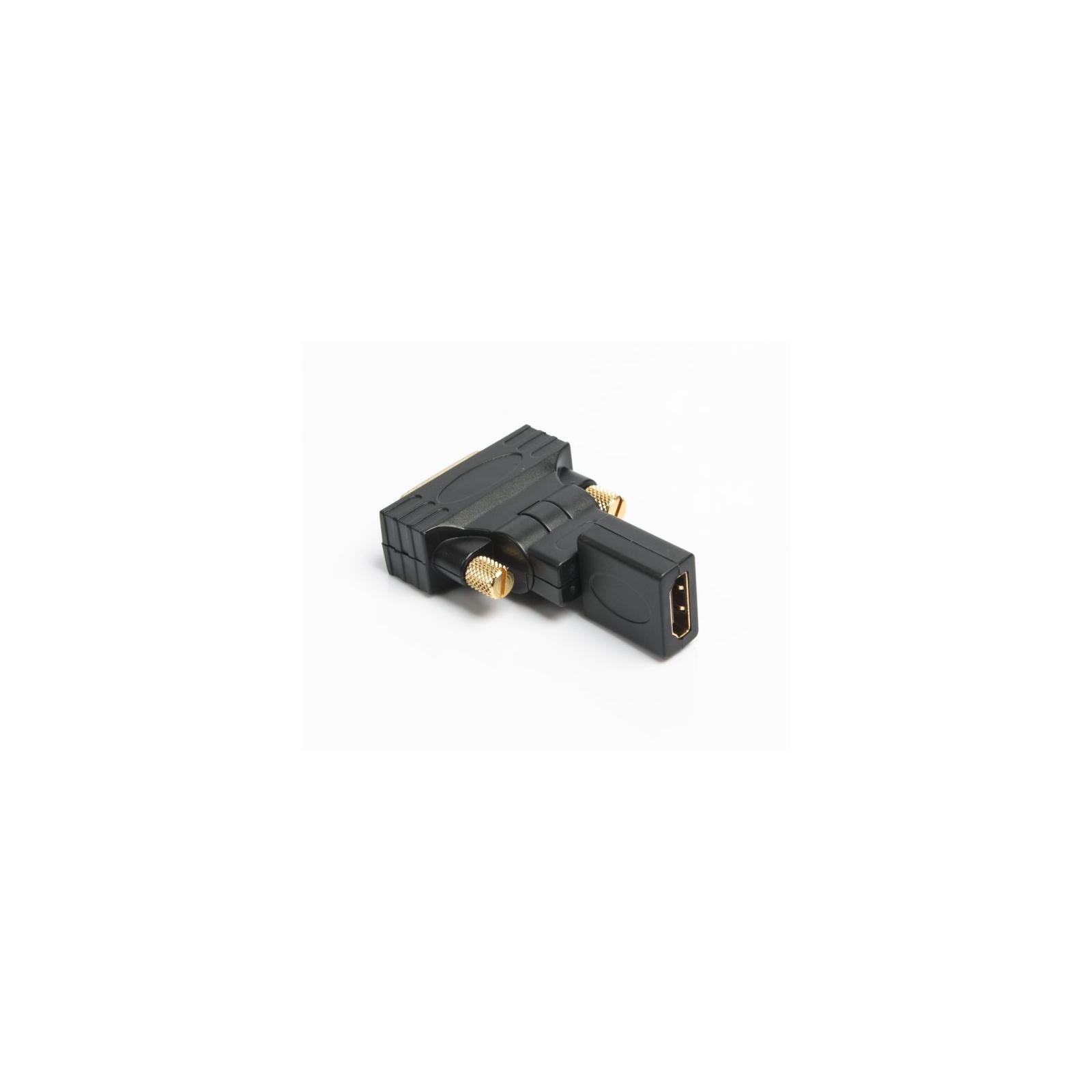 Переходник HDMI AF to DVI M (24+1) Viewcon (VD 038 B) изображение 3