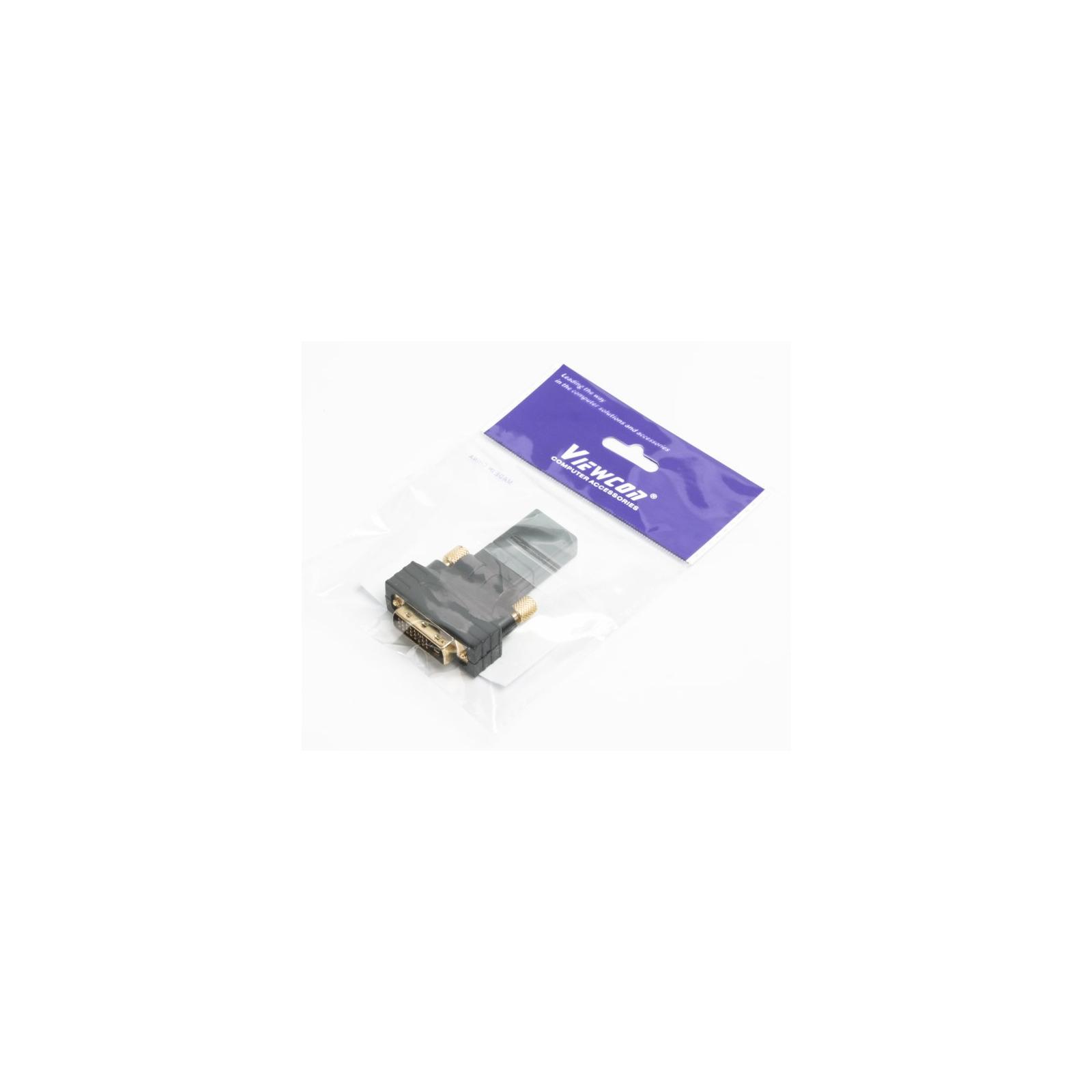 Переходник HDMI AF to DVI M (24+1) Viewcon (VD 038 B) изображение 4