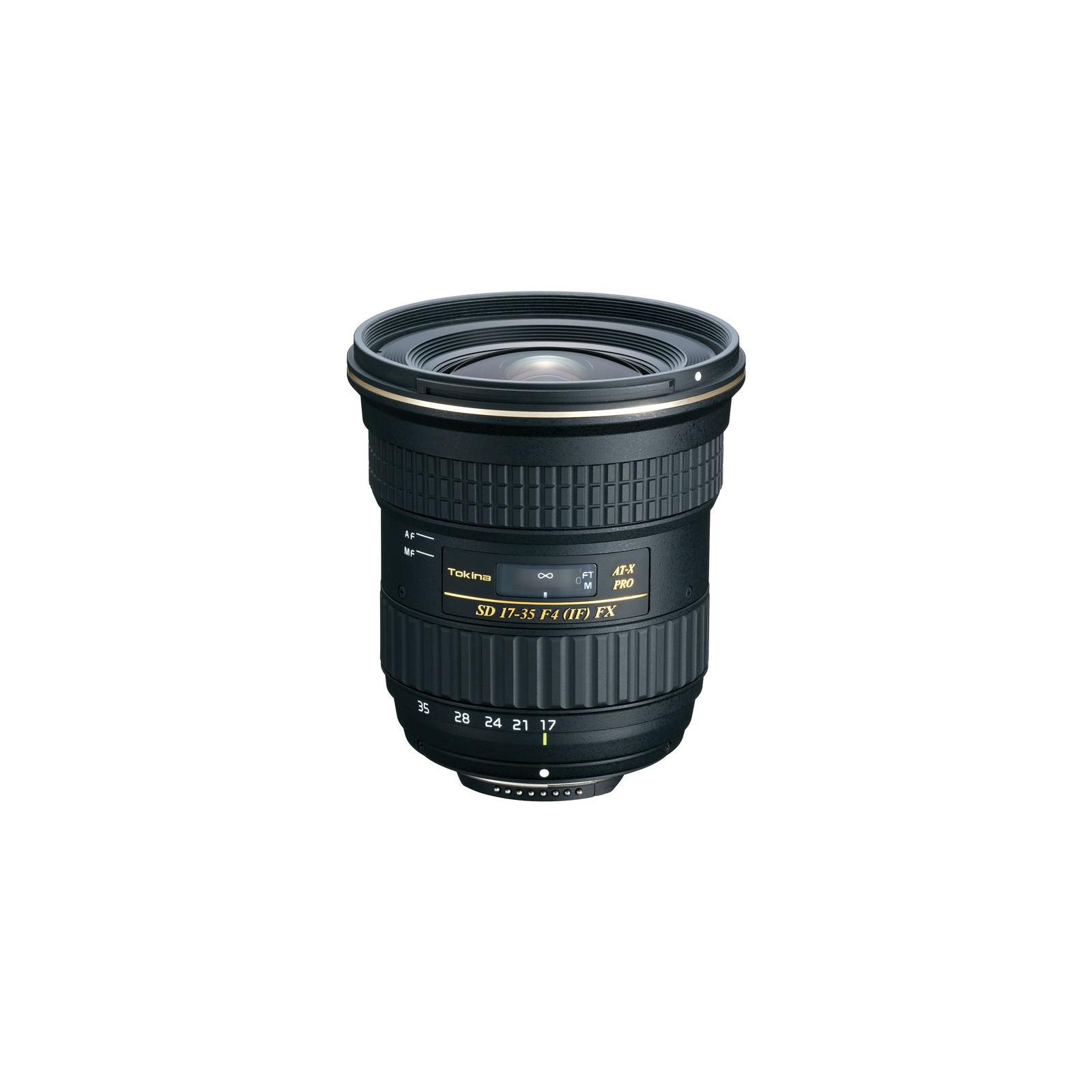 Объектив Tokina AT-X Pro 17-35mm f/4 (Canon) (ATXAF175FXC)