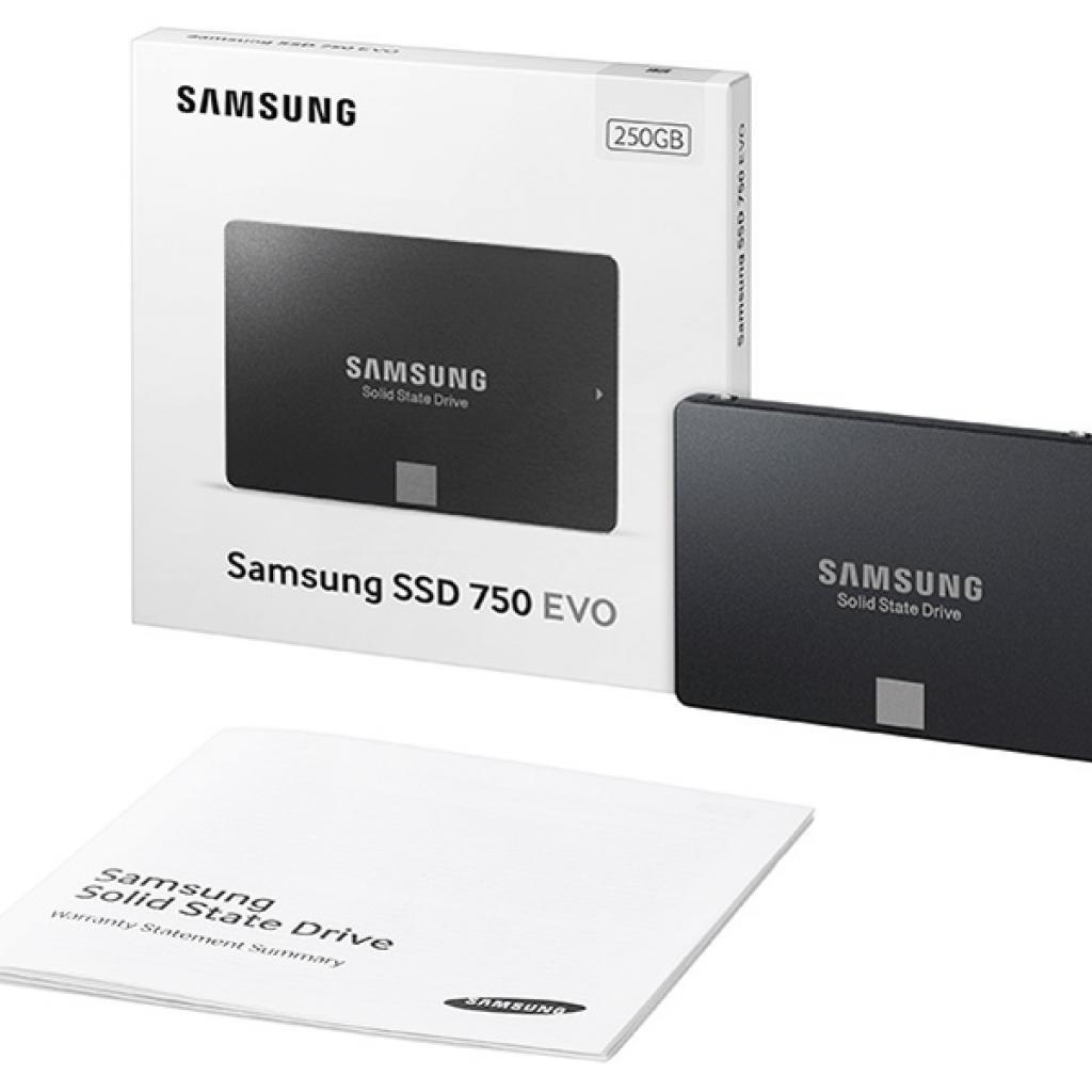 "Накопитель SSD 2.5"" 250GB Samsung (MZ-750250BW) изображение 7"