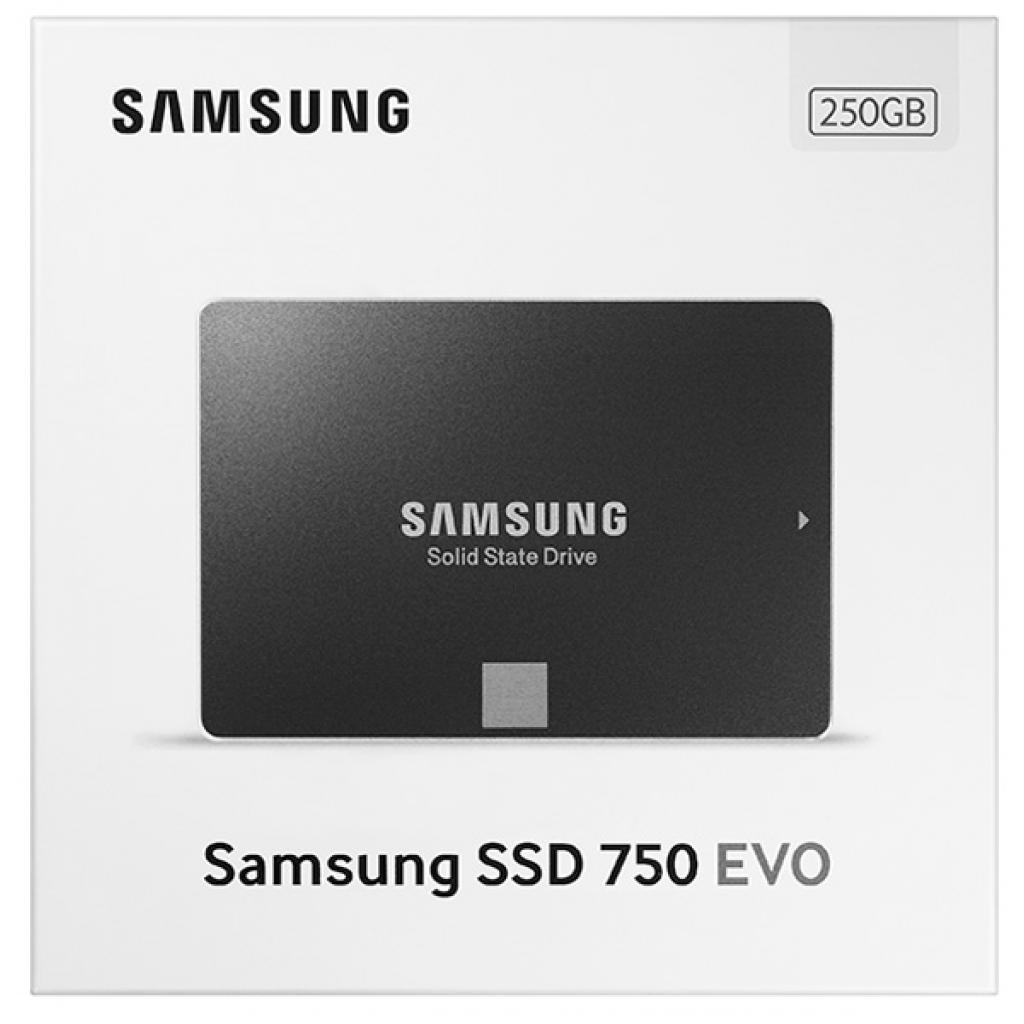 "Накопитель SSD 2.5"" 250GB Samsung (MZ-750250BW) изображение 8"