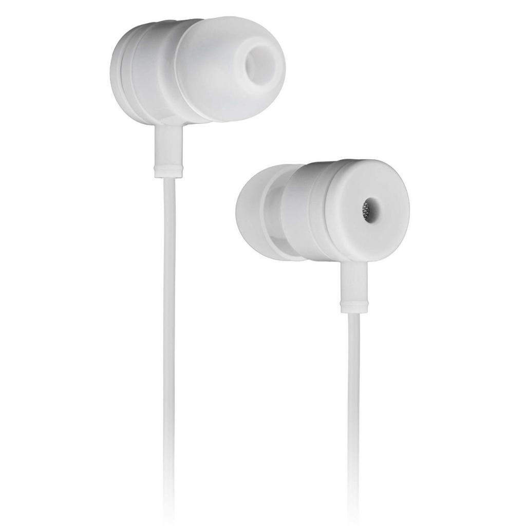 Наушники KitSound KS Vibes Earphones White (KSVIBWH)