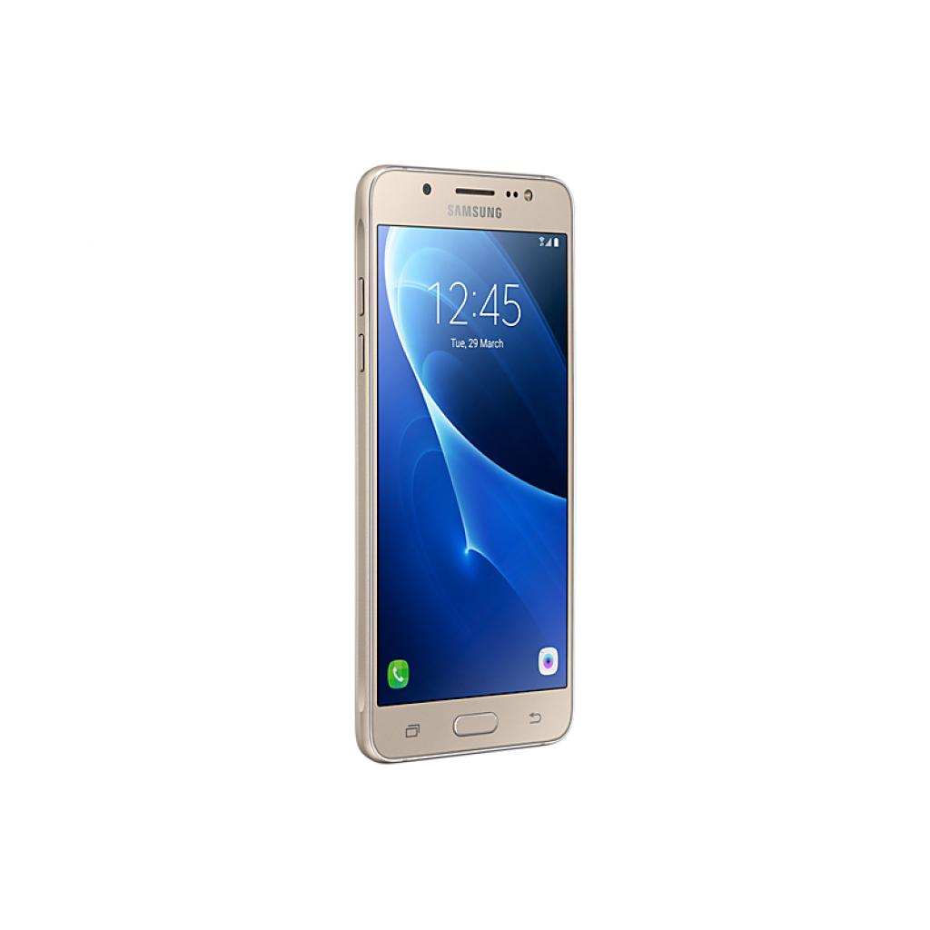 Мобильный телефон Samsung SM-J510H (Galaxy J5 2016 Duos) Gold (SM-J510HZDDSEK) изображение 3