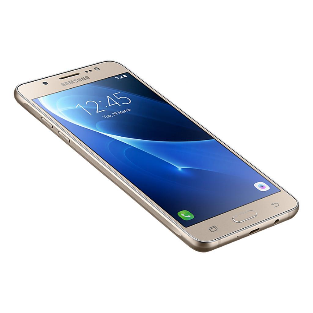 Мобильный телефон Samsung SM-J510H (Galaxy J5 2016 Duos) Gold (SM-J510HZDDSEK) изображение 4