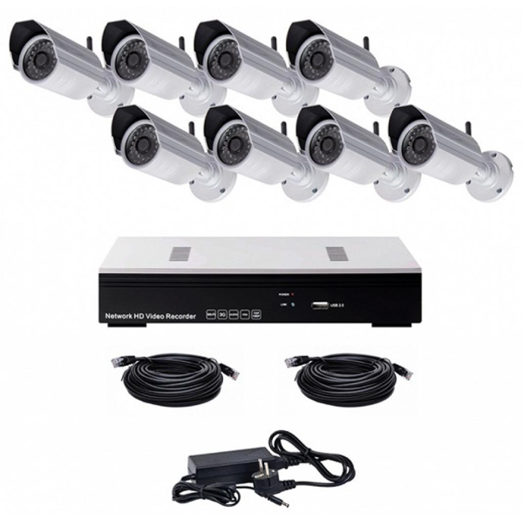 Комплект видеонаблюдения CoVi NVK-4002 POE MINI KIT