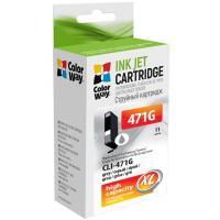 Картридж ColorWay Canon CLI-471 Grey PIXMA MG5740/MG6840 (CW-CLI-471G)