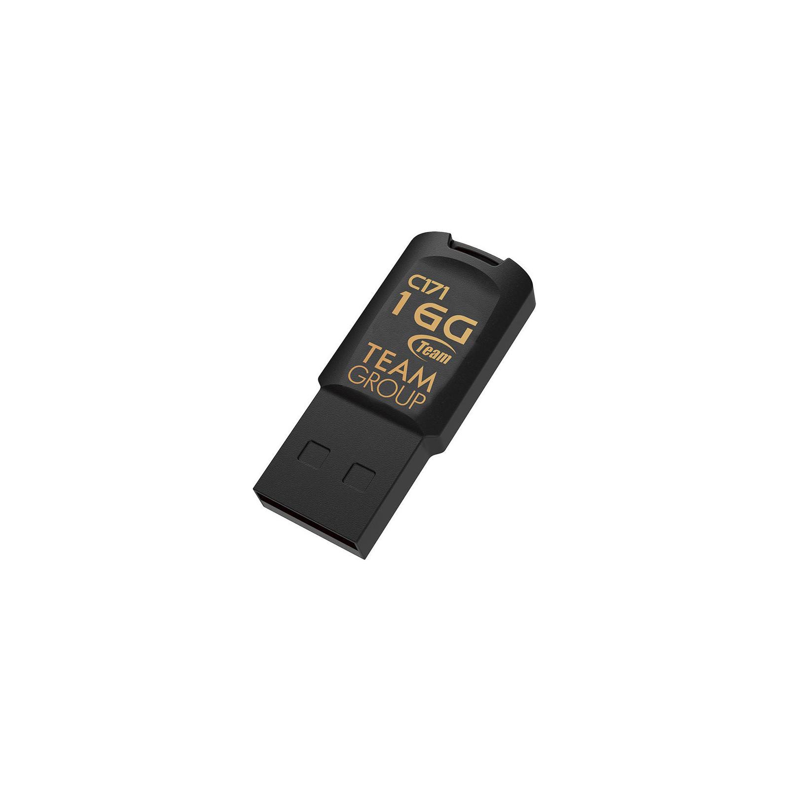 USB флеш накопитель Team 32GB C171 Black USB 2.0 (TC17132GB01) изображение 2