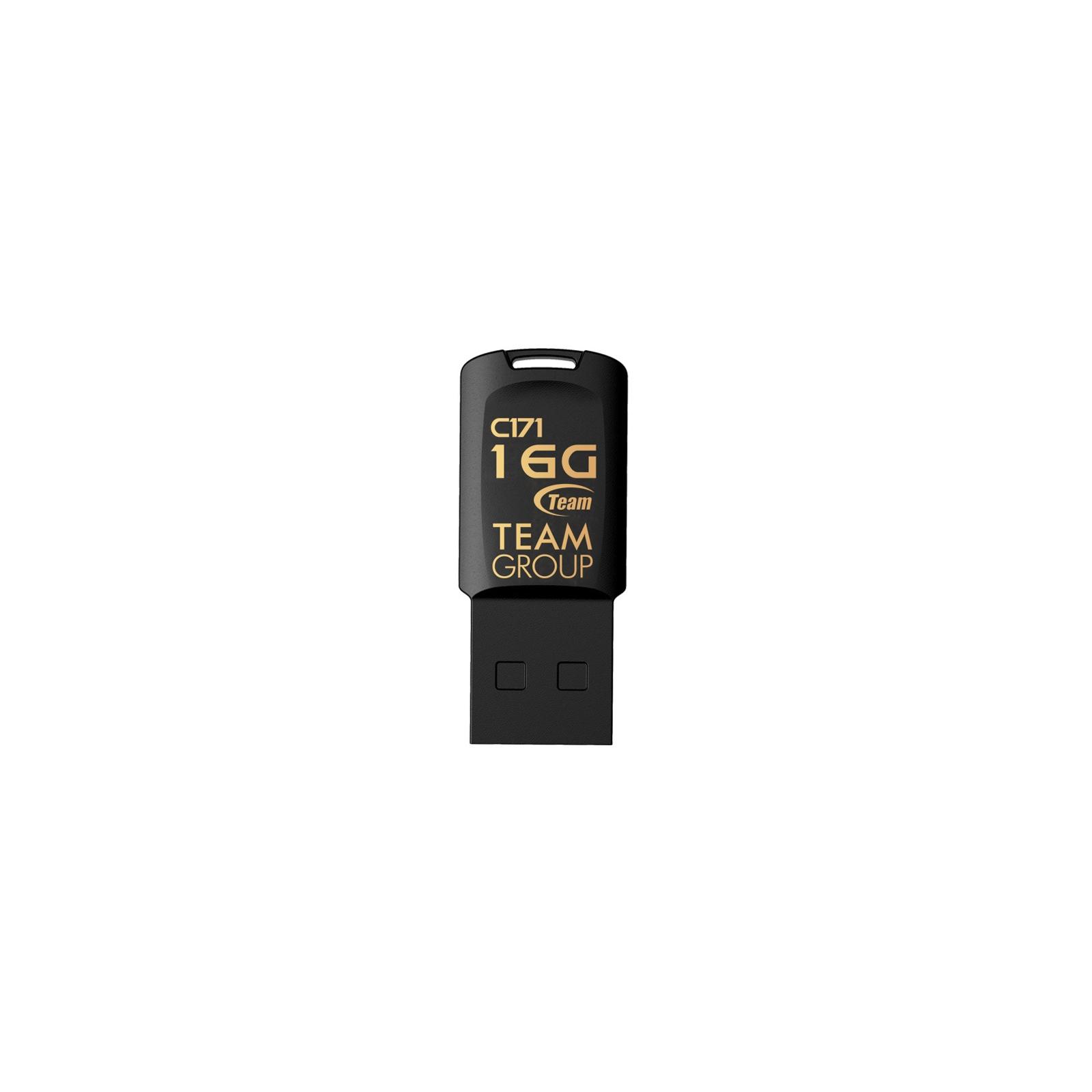 USB флеш накопитель Team 32GB C171 Black USB 2.0 (TC17132GB01)