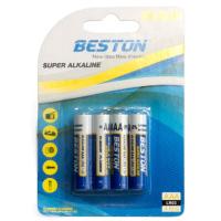 Батарейка BESTON AAA 1.5V Alkaline * 4 (AAB1833)