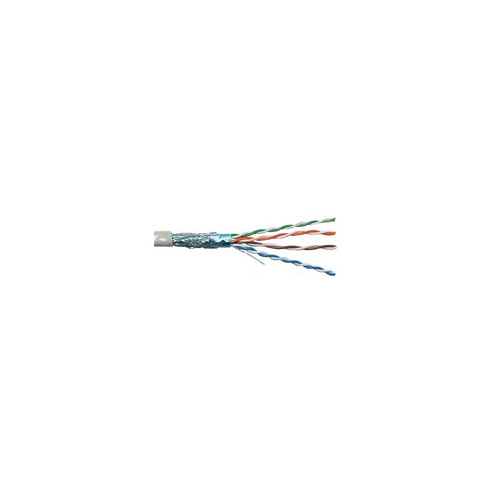 Кабель сетевой OK-Net FTP cat.6 305м (F/UTP-cat.6) (КПВЭ-ВП (250) 4х2х0,54)
