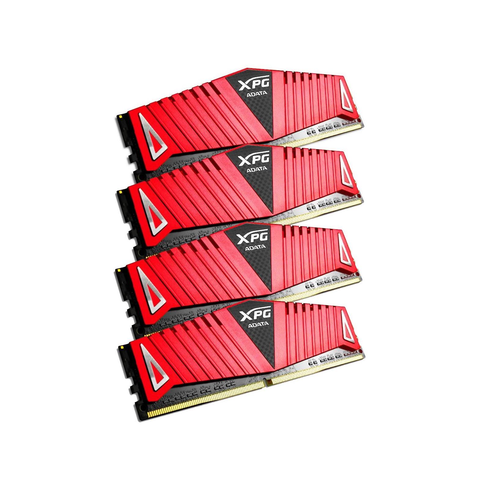Модуль памяти для компьютера DDR4 32GB (4x8GB) 3600 MHz XPG Z1 Red ADATA (AX4U360038G17-QRZ1) изображение 2