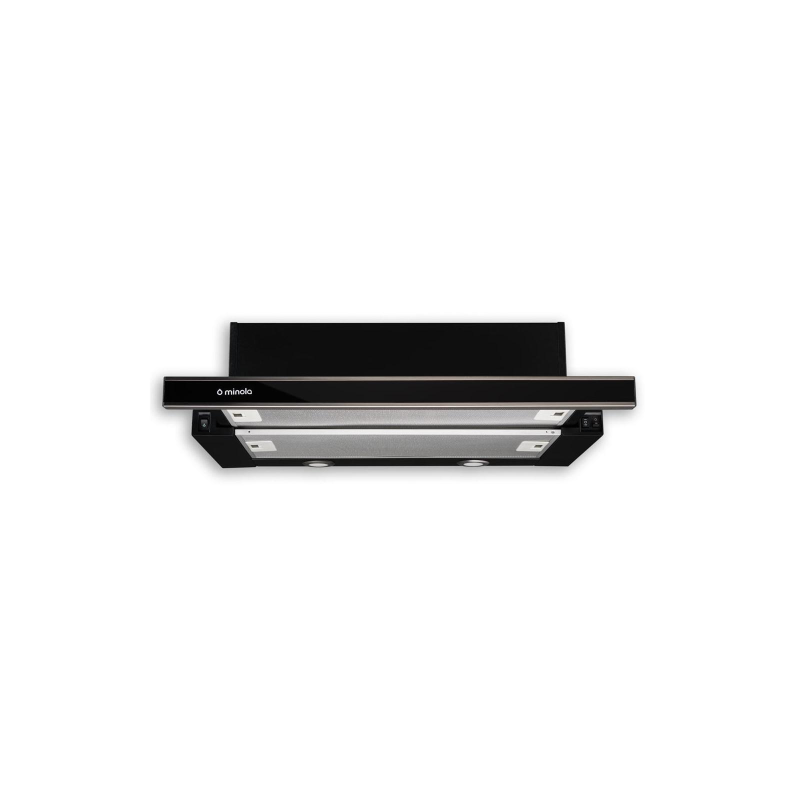 Вытяжка кухонная MINOLA HTL 6162 I/BL GLASS 650 LED изображение 2