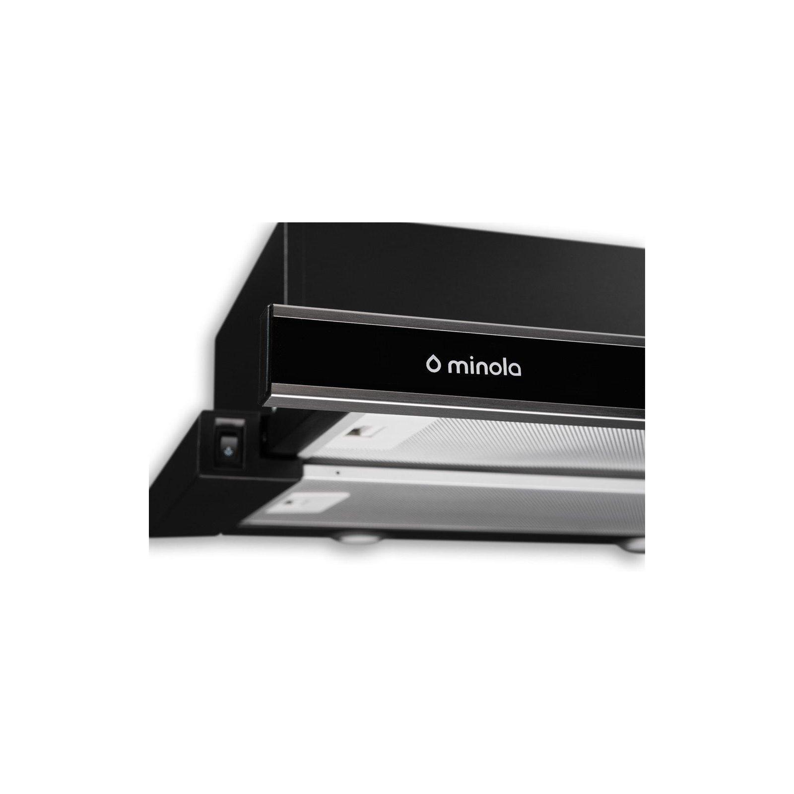 Вытяжка кухонная MINOLA HTL 6162 I/BL GLASS 650 LED изображение 4
